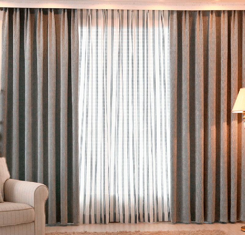 Cortinas tradicionales de tela