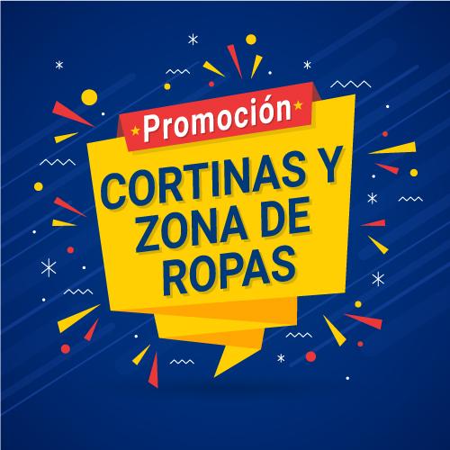 PROMOCIÓN CORTINAS Y ZONA DE ROPAS