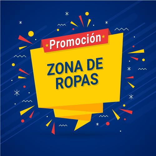 PROMOCIÓN ZONA DE ROPAS